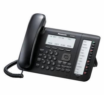 Телефон IP Panasonic KX-NT556RU-B черный