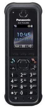 Системный телефон микросотовый Panasonic KX-TCA385RU черный - фото 1