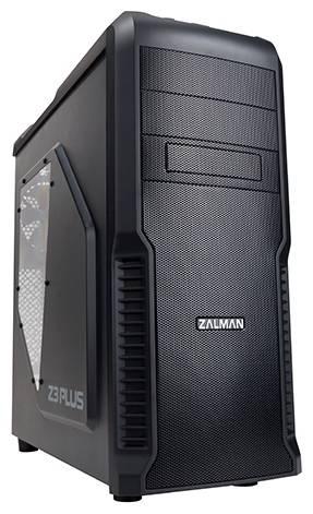 Корпус ATX Zalman Z3 Plus черный (Z3+) - фото 1
