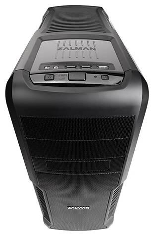 Корпус ATX Zalman Z3 Plus черный (Z3+) - фото 2