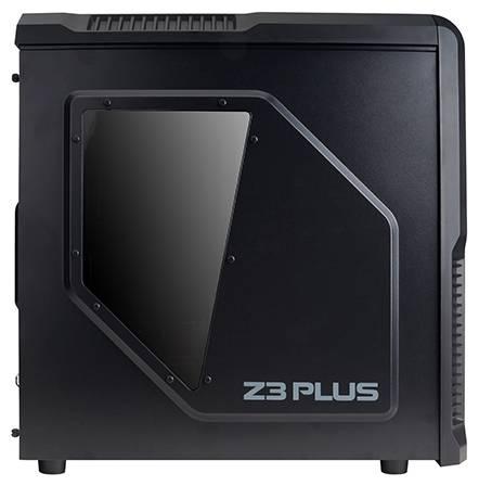 Корпус ATX Zalman Z3 Plus черный (Z3+) - фото 3