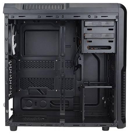 Корпус ATX Zalman Z3 Plus черный (Z3+) - фото 4