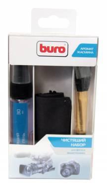 Чистящий набор (салфетки + гель) Buro BU-Photo+Video (3 предмета)