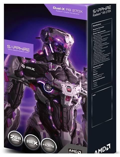 Видеокарта Sapphire Radeon R9 270X 4GB GDDR5 WITH BOOST & OC 4096 МБ (11217-04-20G) - фото 8