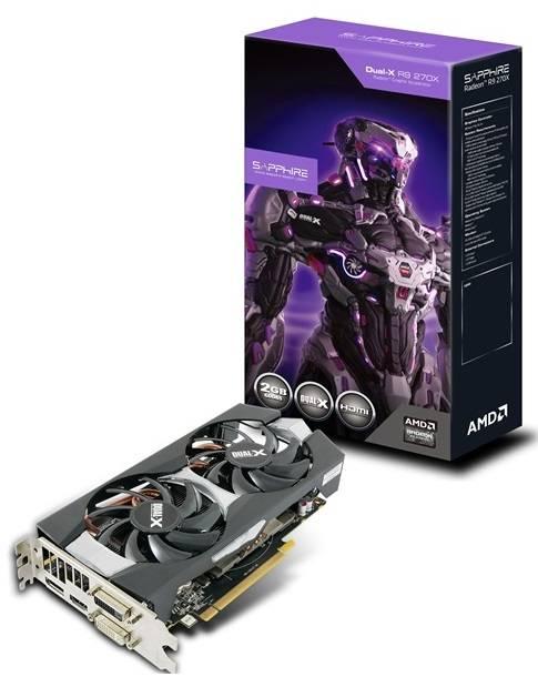 Видеокарта Sapphire Radeon R9 270X 4GB GDDR5 WITH BOOST & OC 4096 МБ (11217-04-20G) - фото 9
