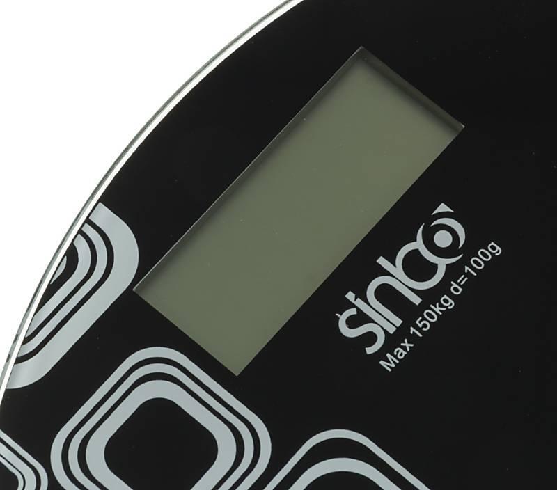 Весы напольные электронные Sinbo SBS 4428 черный - фото 3