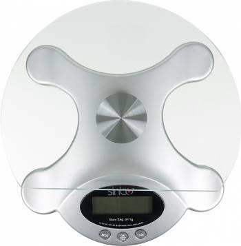 Кухонные весы Sinbo SKS-4507 серебристый