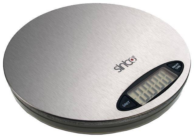 Кухонные весы Sinbo SKS-4513 серебристый - фото 1