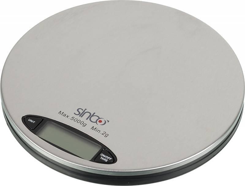 Кухонные весы Sinbo SKS-4513 серебристый - фото 2