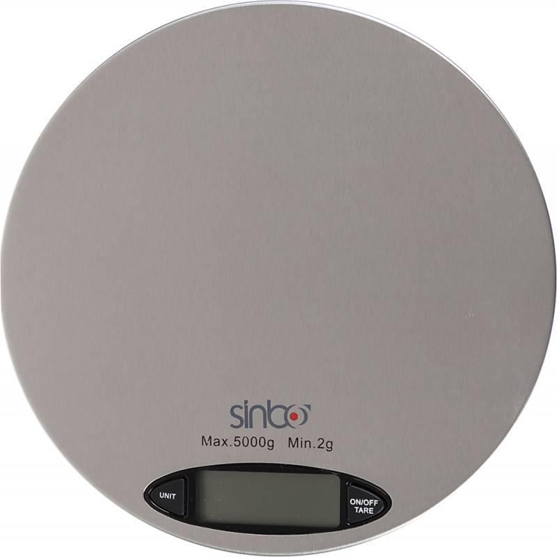 Кухонные весы Sinbo SKS-4513 серебристый - фото 3