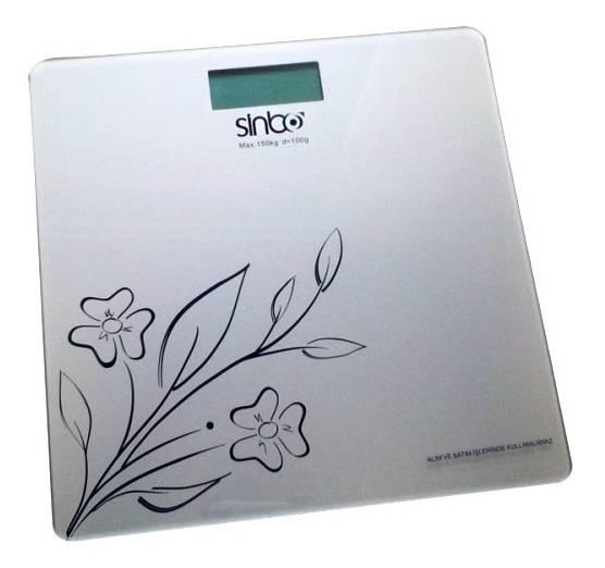 Весы напольные электронные Sinbo SBS 4421 белый - фото 1