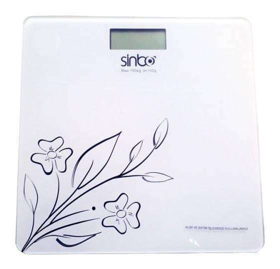 Весы напольные электронные Sinbo SBS 4421 белый - фото 2
