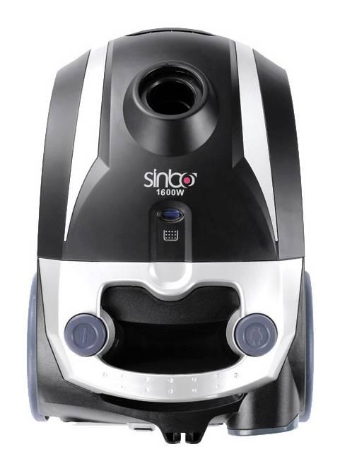 Пылесос Sinbo SVC 3446 черный/серебристый - фото 1