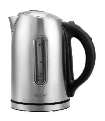 Чайник электрический Sinbo SK 7335 серебристый - фото 1