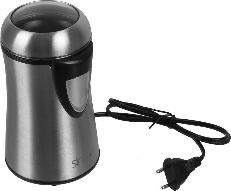 Кофемолка Sinbo SCM-2929 серебристый - фото 1