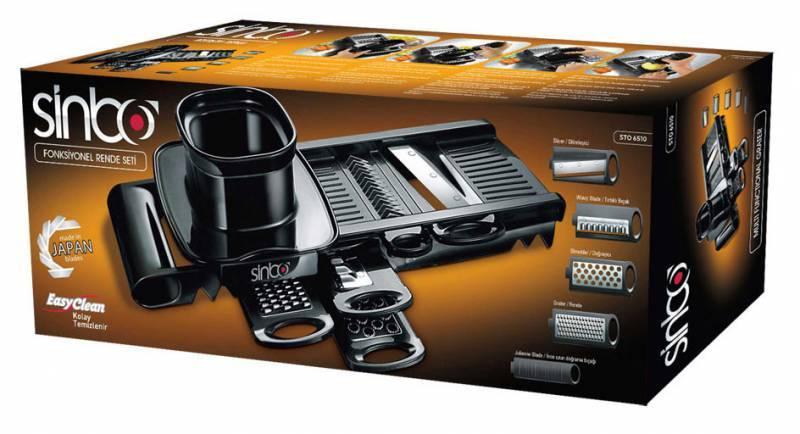 Измельчитель ручной Sinbo STO 6510 черный - фото 2
