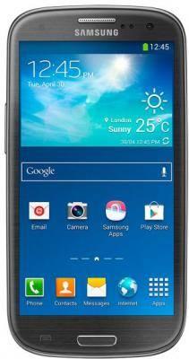 Смартфон Samsung Galaxy S III Duos GT-I9300I 16ГБ черный - фото 1