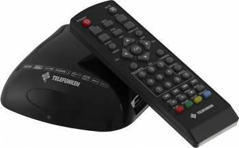 Ресивер DVB-T2 Telefunken TF-DVBT204 черный