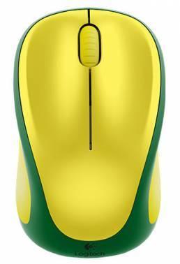 Мышь Logitech M235 красный / желтый