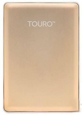 Внешний жесткий диск 1Tb Hitachi HTOSEA10001BGB Touro S золотистый USB 3.0
