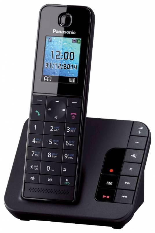 Телефон Panasonic KX-TGH220RUB черный - фото 1