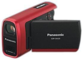 Видеокамера Panasonic SDR-SW20EE-R красный - фото 1