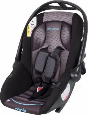 Автокресло детское Nania Baby Ride FST (graphic itech) серый