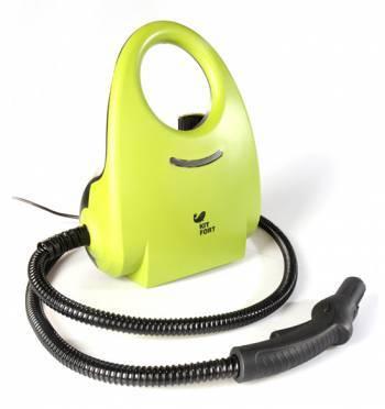 Пароочиститель напольный Kitfort КТ-904 зеленый