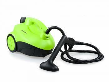 Пароочиститель напольный Kitfort КТ-909 зеленый