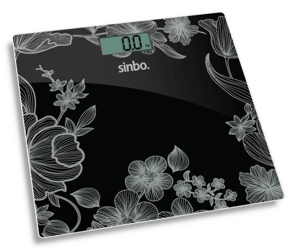 Весы напольные электронные Sinbo SBS 4429 черный - фото 1