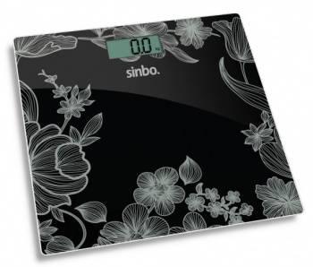 Весы напольные электронные Sinbo SBS 4429 черный