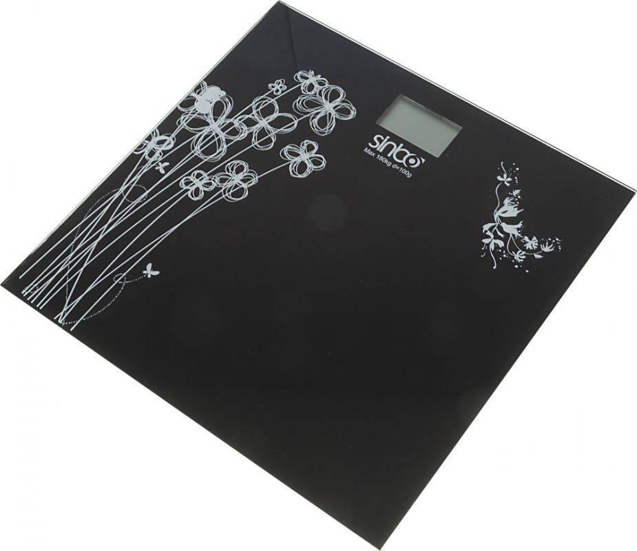 Весы напольные электронные Sinbo SBS 4429 черный - фото 2
