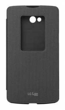 Чехол LG, для LG L80, черный (CCF-510.AGRABK)
