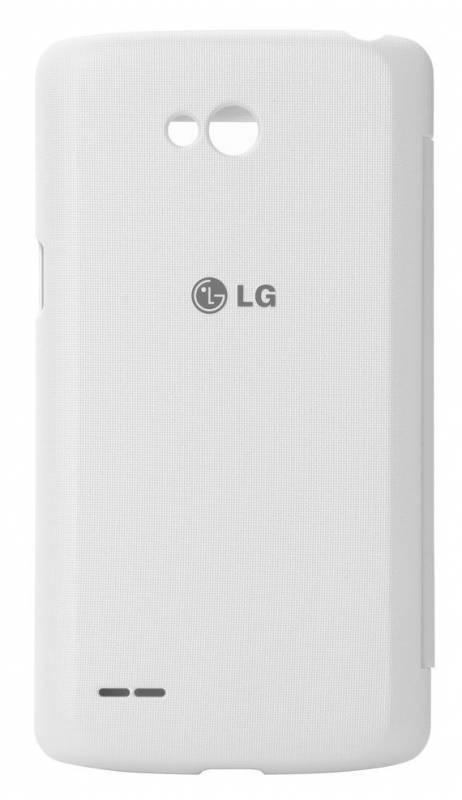 Чехол LG QuickWindow, для LG L80, белый (CCF-510.AGRAWH) - фото 2