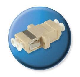 Адаптер Brand-Rex BHCLCSM001 проходной 9/125 OS1/OS2