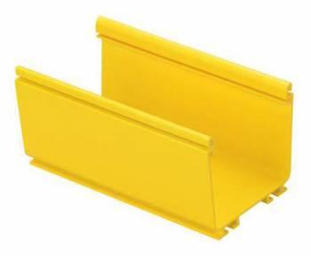Кабельный канал Panduit FR4X4YL2 128.3x112.8мм L2000мм желтый (упак.:1шт)