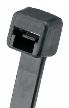 Стяжка пластиковая Panduit PLT2I-M0 черный 203x3.6мм (упак:1000шт)