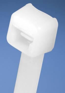 Стяжка пластиковая Panduit PLT1M-C белый 99x2.5мм (упак:100шт)