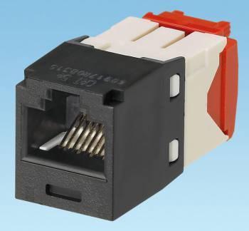 Модуль Panduit CJ5E88TGBL информационный Mini-ComRJ45 кат.5E UTP черн. (упак.:1шт)
