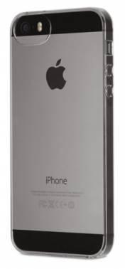 Чехол, для Apple iPhone 5s, серый (полупрозрачный) (PJK-83AJ)