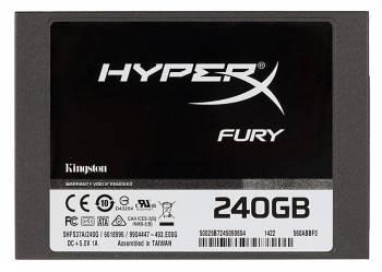 Накопитель SSD 240Gb Kingston HyperX FURY SHFS37A / 240G SATA III
