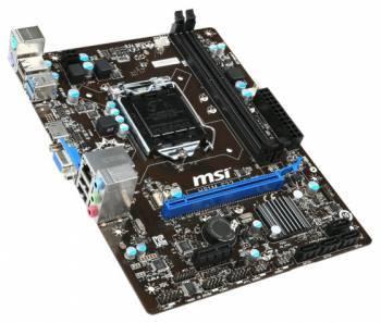 Материнская плата Soc-1150 MSI H81M-E33 mATX BULK