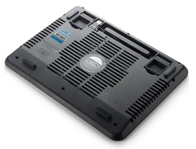 "Подставка для ноутбука 14"" Deepcool N17 черный (N17BLACK) - фото 6"