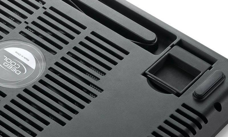 "Подставка для ноутбука 14"" Deepcool N17 черный (N17BLACK) - фото 10"