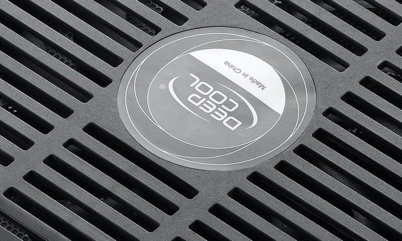 "Подставка для ноутбука 14"" Deepcool N17 черный (N17BLACK) - фото 11"