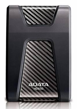 Внешний жесткий диск 2Tb A-Data AHD650-2TU3-CBK DashDrive Durable черный USB 3.0