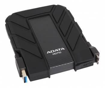 Внешний жесткий диск 2Tb A-Data HD710-2TU3-CBK DashDrive Durable черный USB 3.0