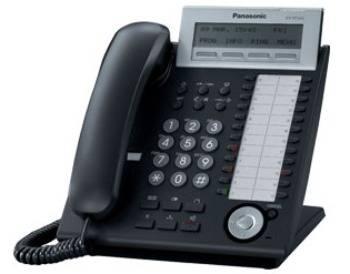 Системный телефон Panasonic KX-NT343RU белый