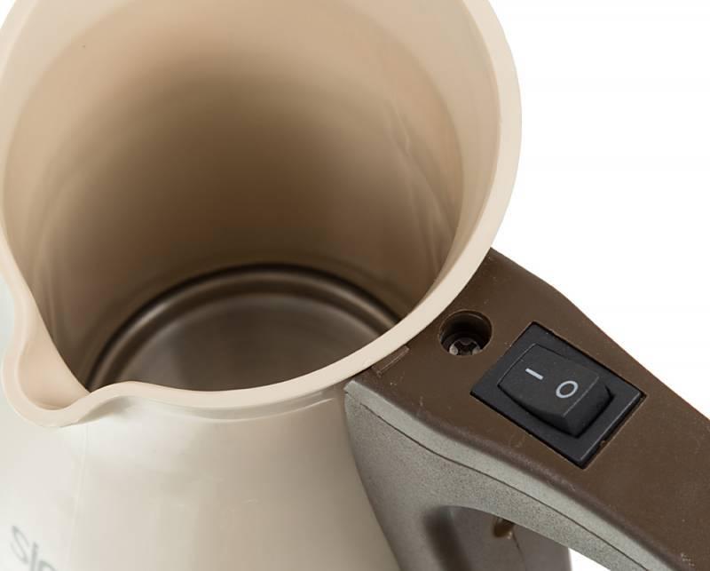 Кофеварка Электрическая турка Sinbo SCM 2928 коричневый - фото 5