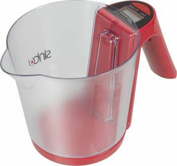 Кухонные весы Sinbo SKS 4516 красный